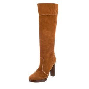 Michael Kors Platform Knee-High Boots